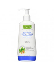 Remedy Dermatology Series Body Lotion for Dry Skin, 8 Oz, Unscented Lotion, paraben Free, Lotion for Sensitive Skin