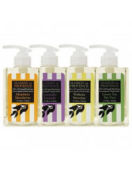 OLIVIA CARE O Line Liquid foaming Hand Soap for Restroom, Bathroom, Kitchen, Workplace! -Aromatic, Anti-Bacterial Organic Olive oil cleanses & Moisturizes without drying! (1 of Each Flavor (4 total)