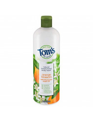 Tom's of Maine Body Wash, Body Wash for Women, Natural Body Wash, Orange Blossom, 16 Ounce, 1-Pack