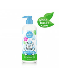 DAPPLE Baby Lotion, Fragrance Free Lotion, Plant Based, Hypoallergenic, 16.9 Fluid Ounces