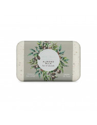 Mistral Triple Milled Organic Olive Oil and Shea Butter Bar Soap - Almond Milk