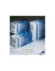 """Cotton Tipped Applicators with Wooden Shaft, Non-Sterile, 3"""", 10 Bags of 100"""