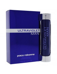 Ultraviolet By Paco Rabanne For Men. Eau De Toilette Spray 3.4 Ounces