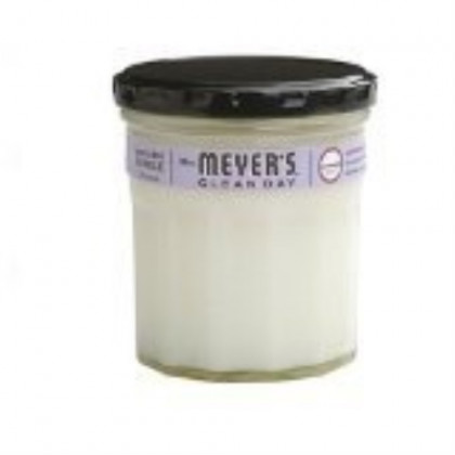 Mrs. Meyer's Clean Day Soy Candle, Lavender, 7.2-Ounce Glass Jars (Pack of 6)