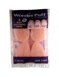 Wonder Puff Deep Cleansing Puffs #1005 4 Count