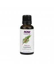 Now Essential Oils, Cypress Oil, Balancing Aromatherapy Scent, Steam Distilled, 100% Pure, Vegan, 1-Ounce