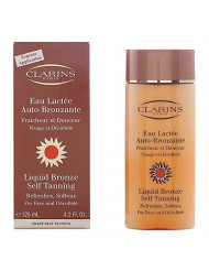 Clarins Sun Liquid Bronze Self Tanning For Face and Decollete 125ml