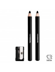 Covergirl Easy Breezy Brow Fill and Define Pencil, Black, 0.06 Ounce