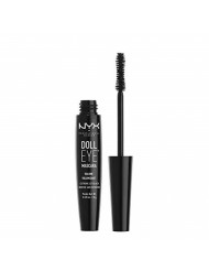NYX Professional Makeup Doll Eye Mascara, Extreme Black,  Volume,  DE02, 0.28 oz