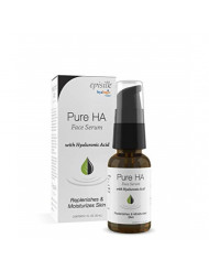 Pure Hyaluronic Acid Serum for Face - Hyalogic Natural HA Face Serum, Non-Greasy, Fragrance-Free Formula - Hyaluronic Acid Serum- Soften & Hydrate Skin | 1 Fl. oz.