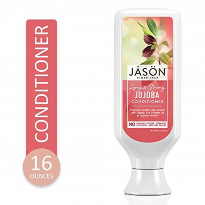 JASON Long and Strong Jojoba Conditioner, 16 oz. (Packaging May Vary)