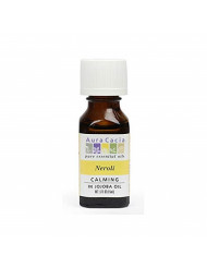 Aura Cacia Neroli Oil in Jojoba Oil | GC/MS Tested for Purity | 15ml (0.5 fl. oz.)