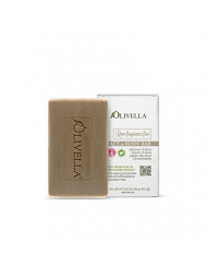 Olivella Face and Body Soap,Raw fragrance free, All-natural 100 Percent Virgin Olive Oil From Italy, 3.52-oz Bars (Pack of 12) by Olivella