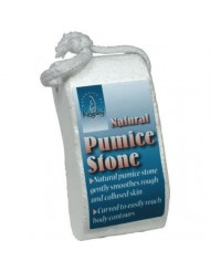 Kingsley Pillow Shaped Natural Pumice Stone On Rope