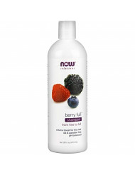 NOW Solutions, Berry Full, Volume Boost Shampoo for Fine Hair with Biotin, pH Balnced, 16-Ounce