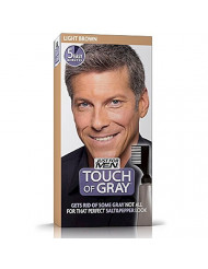 Touch of Gray Men's Hair Color, Light Brown