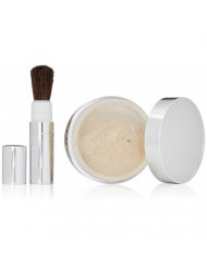 Clinique Blended Face Powder and Brush, Shade 20, 1.2 Ounce