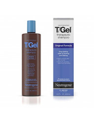 Neutrogena T/Gel Therapeutic Shampoo Original Formula, Anti-Dandruff Treatment for Long-Lasting Relief of Itching and Flaking Scalp as a Result of Psoriasis & Seborrheic Dermatitis, 8.5 fl oz (2 Pack)