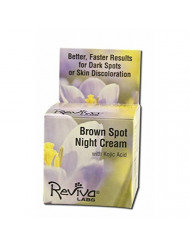 Brown Spot Night Cream With Kojic Acid 1 OZ Pack of 2
