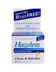Witch Hazel Cleansing Pad Size 60ct Witch Hazel Cleansing Pads 60ct