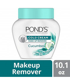 Pond's Cold Cream Make-Up remover Cucumber 10.1 oz (Packaging may vary) (Pack of 3)
