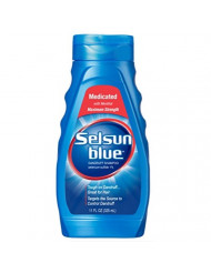 Selsun Blue Medicated Dandruff Shampoo 11 Fl Oz Bottles (Pack of 3)