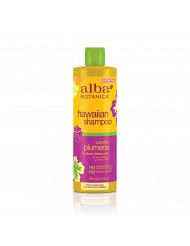 Alba Botanica Hawaiian, Plumeria Shampoo, 12 Ounce (Pack of 2)