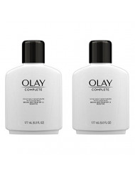 Face Moisturizer by Olay Complete Lotion All Day Moisturizer with SPF 15 for Sensitive Skin, 6.0 fl oz (Pack of 2)