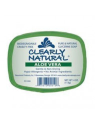 Clearly Natural Clearly Nat Soap Aloe Vera 4 Oz, 6 pack