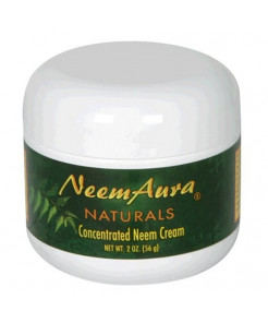 Neemaura Naturals Concentrated Neem Cream w/Aloe Vera, 2 oz (56 g), (Pack of 2)