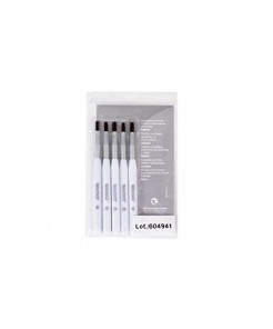 RefectoCil Cosmetic Brush for Tinting Eyelashes and Eyebrows (SOFT) 5 PACK