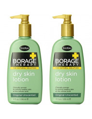 ShiKai Lotion, Dry Skin Therapy, Borage, 8-Ounces (Pack of 2)