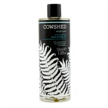 Cowshed Wild Cow Invigorating Bath & Body Oil for Women, 3.38 Ounce
