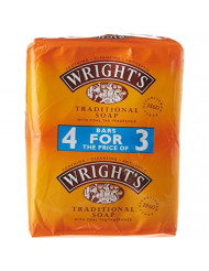 Wright's Coal Tar Soap 4 pack
