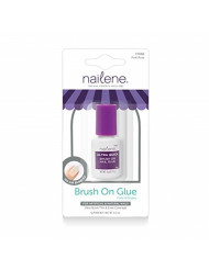 Nailene Ultra Quick Pink Brush-On Glue