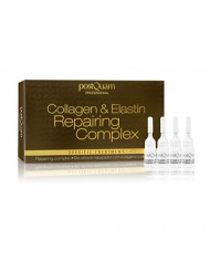 Postquam Collagen & Elastin Repairing Complex for Anti Aging and Wrinkles 12x3 Ml Phials