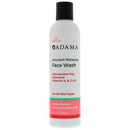 Adama Minerals Ancient Clay Face Wash 8 Ounces