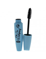 W7 Oh So Waterproof Blackest Black Mascara, 0.503 Ounce