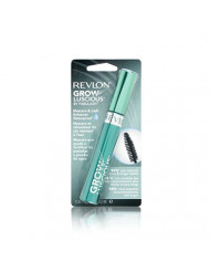 Revlon Grow Luscious By Fabulash, Waterproof, 821 Blackest Black, 0.38-Ounce