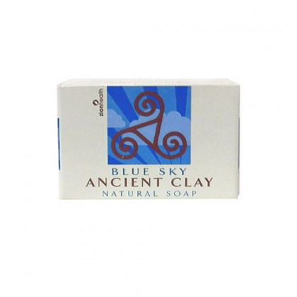 Zion Health Aicient Clay Natural Blue Sky Soap, 6 Oz