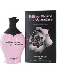 Rose Noire Absolue by Giorgio Valenti Eau De Parfum Spray for Women, 3.3 Ounce