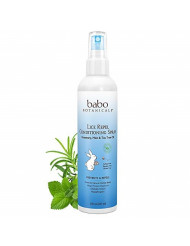 Babo Botanicals Lice Repel Conditioning Spray with Rosemary, Tea Tree and Mint Oils, Hypoallergenic, Vegan, for Kids - 8 oz.