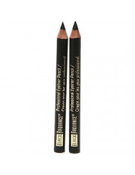 Black Radiance Twin Eyeliner Pencil Truly Black 6503