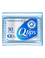 Q-tips Swabs Purse Pack, 30 each (Pack of 5)