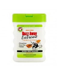 Quantum Research Buzz Away Extrm Towelette 25 Ct