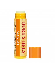 Burt's Bees 100% Natural Moisturizing Lip Balm, Mango Beeswax & Fruit Extracts - 12 Tubes