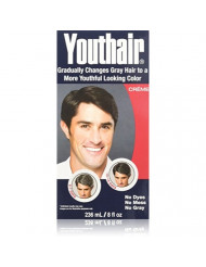 Youthair for Men Hair Color & Conditioner Creme 8oz (Pack of 2)