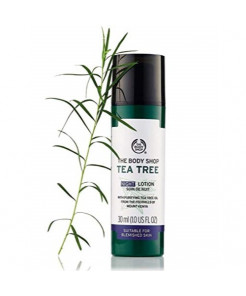 The Body Shop Tea Tree Night Lotion, 1 Oz