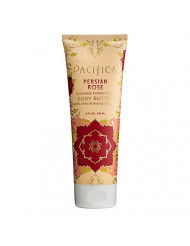 Pacifica Body Butter Tube, Persian Rose, 8 Ounce
