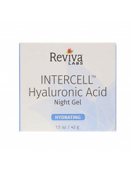 Reviva Intercell Night Gel with Hyaluronic Acid 1.50 oz